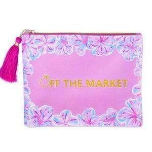 """NWT """"Off the Market"""" Cosmetic Bag"""
